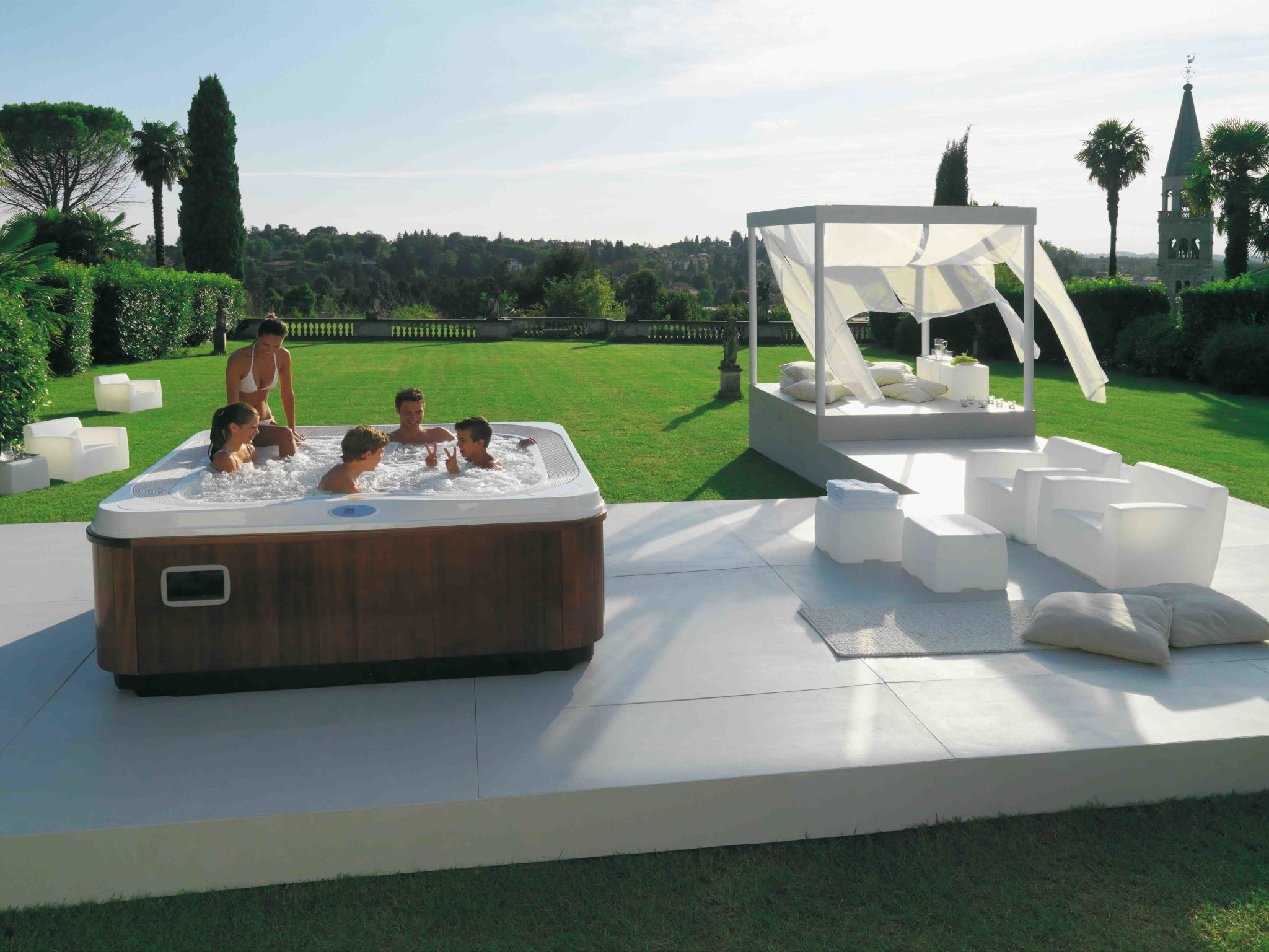 Profile Jacuzzi 5 places CultureSpas