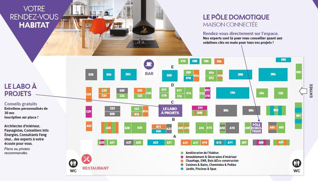 Toulouse retrouverez culturespas au salon de l 39 habitat for Salon habitat toulouse